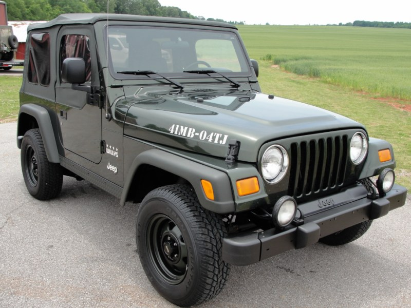 Jeep Wrangler Willys Edition 04 Stk 827 Gilbert Jeeps