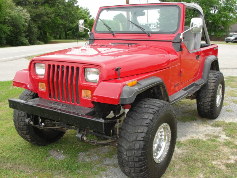 JEEP WRANGLER YJ STK #829  Gilbert Jeeps and 4x4s