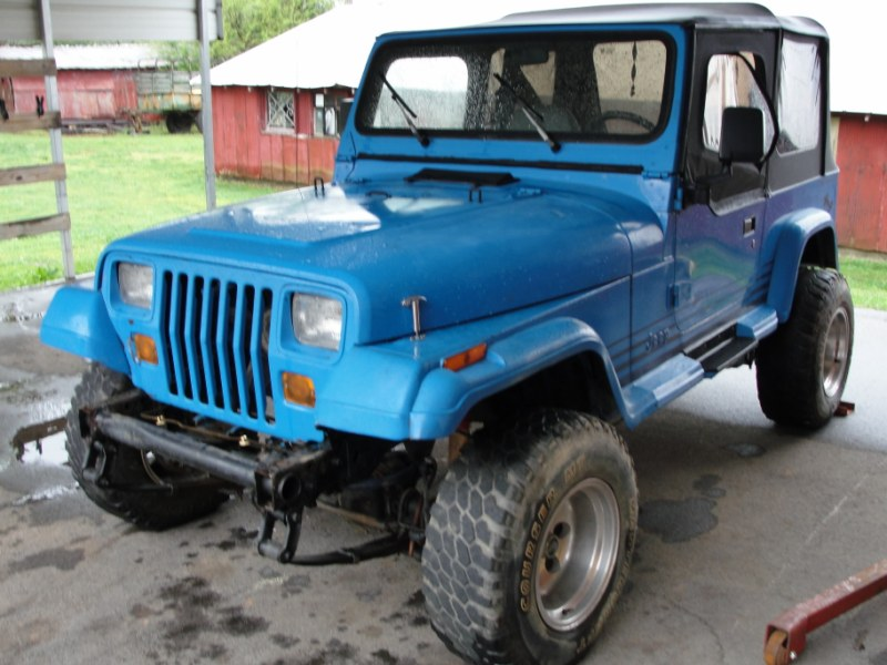 JEEP YJ PARTS ONLY stk # 925 - Gilbert Jeeps and 4x4's